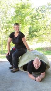 Josh and Jo. The turtle life.