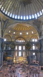 the monumental Hagia Sofya