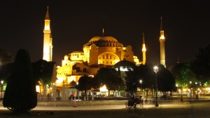 Hagia Sofya by night