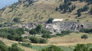 First view - Ephesus, Odeon theatre