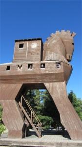 (modern) Trojan Horse at Troy